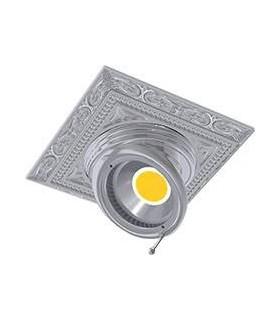 Квадратный встраиваемый, поворотный светильник из латуни FEDE EMPORIO SQUARE