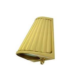 Накладной точечный светильник из латуни с матовым стеклом FEDE BARI OPAQUE GLASS, bright gold