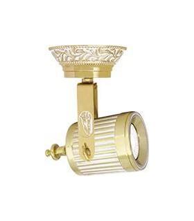Накладной поворотный светильник из латуни FEDE VIENNA GU10