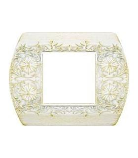 Рамка на 1 пост гор/верт FEDE SANREMO, white decape