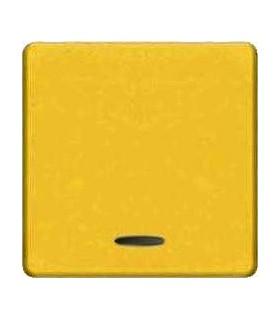 Клавиша широкая FEDE с подсветкой, bright gold
