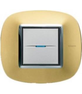 Выключатель Bticino Axolute Золото матовое-OS