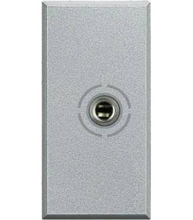 BTicino Аудио разъем Jack 3,5 мм, цвет - алюминий