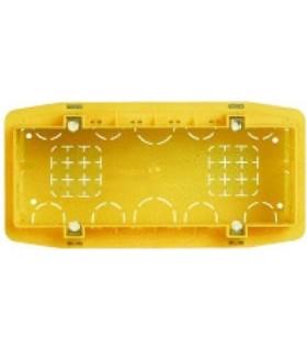 BTicino Коробка установочная (подрозетник) для бетонных стен. 6 модулей в ряд. Итал. дизайн.
