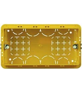 BTicino Коробка установочная (подрозетник) для бетонных стен. 4 модуля. Итал. дизайн.