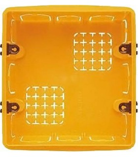 BTicino Коробка установочная (подрозетник) для бетонных стен. 3+3 модуля. Итал. дизайн.
