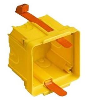 BTicino Eteris, коробка установочная для гипсокартонных стен, на 2 модуля