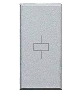 BTicino Моностабильное силовое реле, 10А,230В, размер - 1 модуль, цвет - алюминий