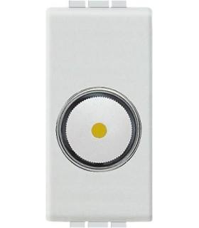 Светорегулятор для активной нагрузки 100 - 500 Вт (1 модуль), Bticino LivingLight, белый