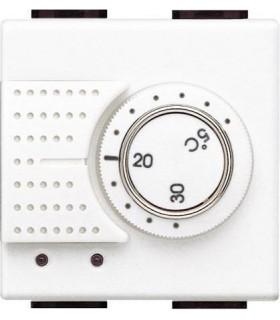 Комнатный термостат 2А, Bticino LivingLight, белый