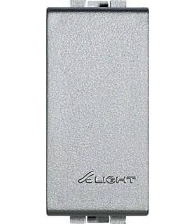 Заглушка (1 модуль) Bticino LivingLight, алюминий
