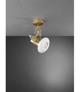 Cпот (точечный светильник) La Lampada PL 462/1.26 Ceramic White