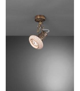 Cпот (точечный светильник) La Lampada PL 462/1.40 Ceramic Antique