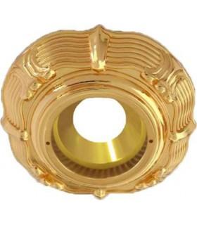 Круглый точечный светильник Brusi Barcelona коллекция Grand Palais, 24K gold
