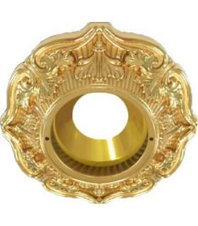 Круглый точечный светильник Brusi Barcelona коллекция Palais - Royal, 24K gold