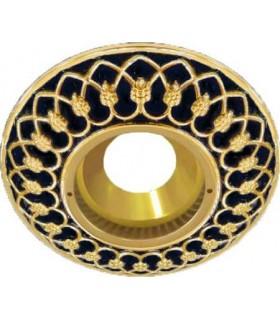 Круглый точечный светильник Brusi Barcelona коллекция Versailles, jet black