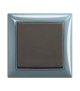 ABB Выключатель basic 55 Bistro-синий / Chateau-чёрный