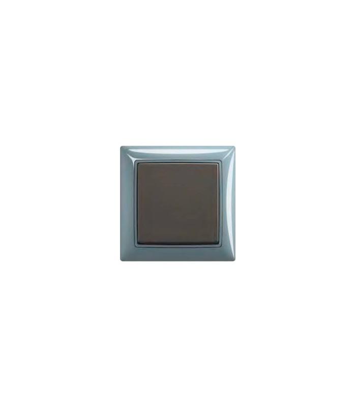 Выключатель basic 55 Bistro-синий/Chateau-чёрный