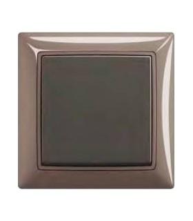 ABB Выключатель basic 55 Entree-серый / Chateau-чёрный