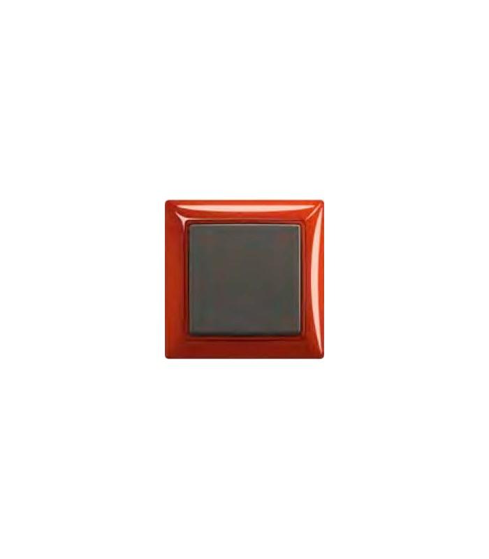 Выключатель basic 55 Foyer-красный/Chateau-чёрный
