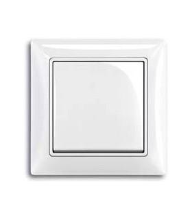 ABB Выключатель basic 55 Альпийский белый