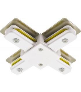 Коннектор для шинопровода X-образный Horoz Electric
