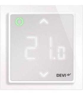 Терморегулятор DEVI DEVIreg™ Smart интеллектуальный 16А с Wi-Fi, полярно-белый
