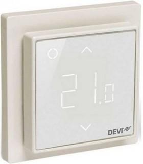 Терморегулятор DEVI DEVIreg™ Smart интеллектуальный 16А с Wi-Fi, белый