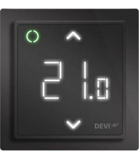 Терморегулятор DEVI DEVIreg™ Smart интеллектуальный 16А с Wi-Fi, черный