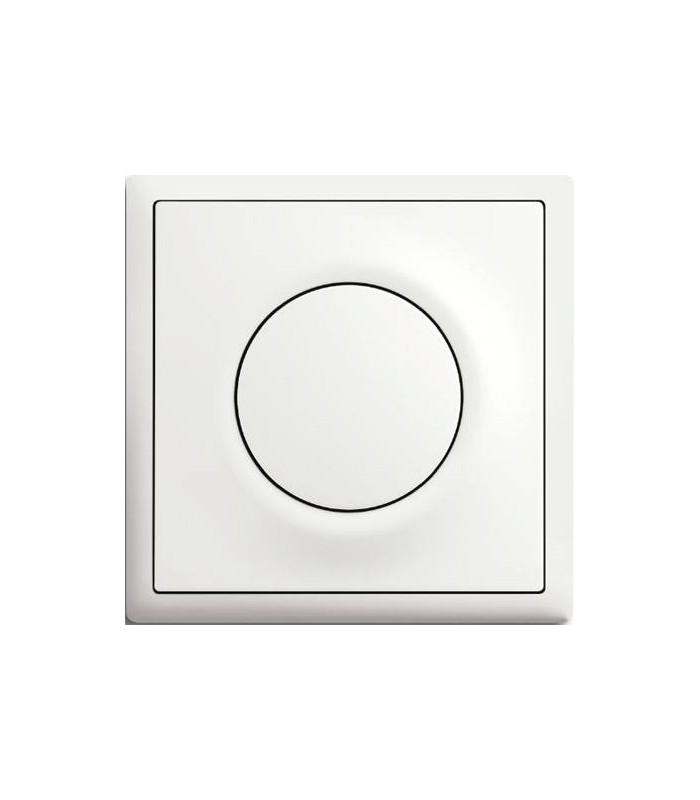 Выключатель серии Impuls белый бархат
