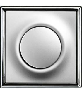 ABB Выключатель серии Impuls Серебристо-алюминевый/Хром