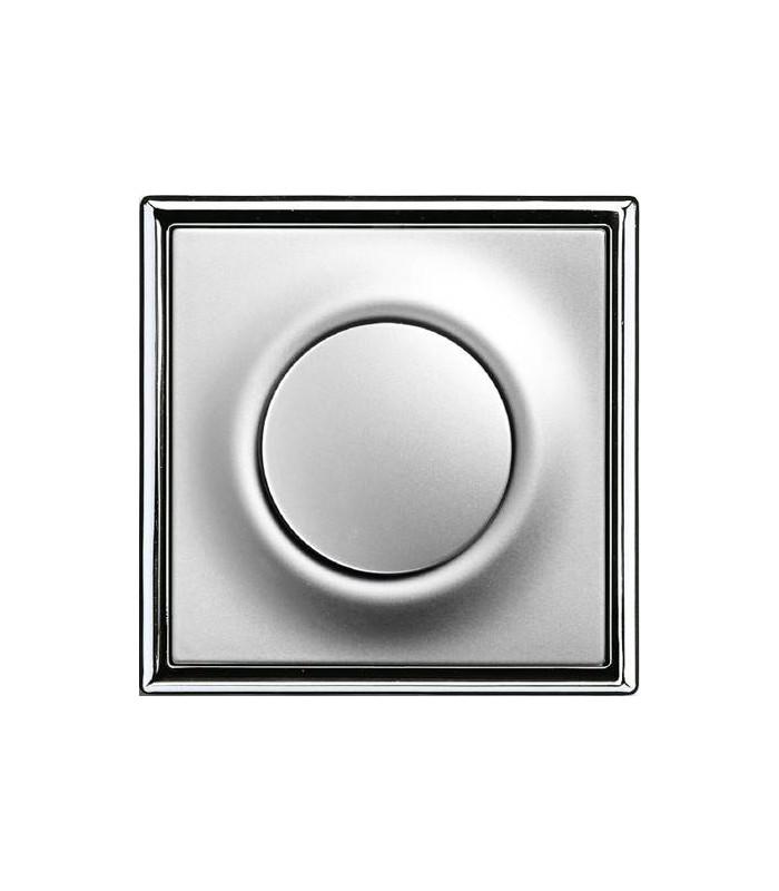 Выключатель серии Impuls Серебристо-алюминевый/Хром
