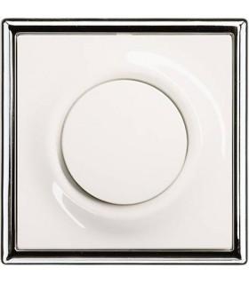 ABB Выключатель серии Impuls Альпийский белый/Хром