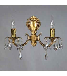 Бра AMBIENTE by BRIZZI серия BENISA, 2226/2 AB Tear Drop, матовая бронза