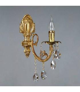 Бра AMBIENTE by BRIZZI серия ALICANTE, 8888/1 AB Tear drop, матовая бронза