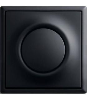 ABB Выключатель серии Impuls черный бархат