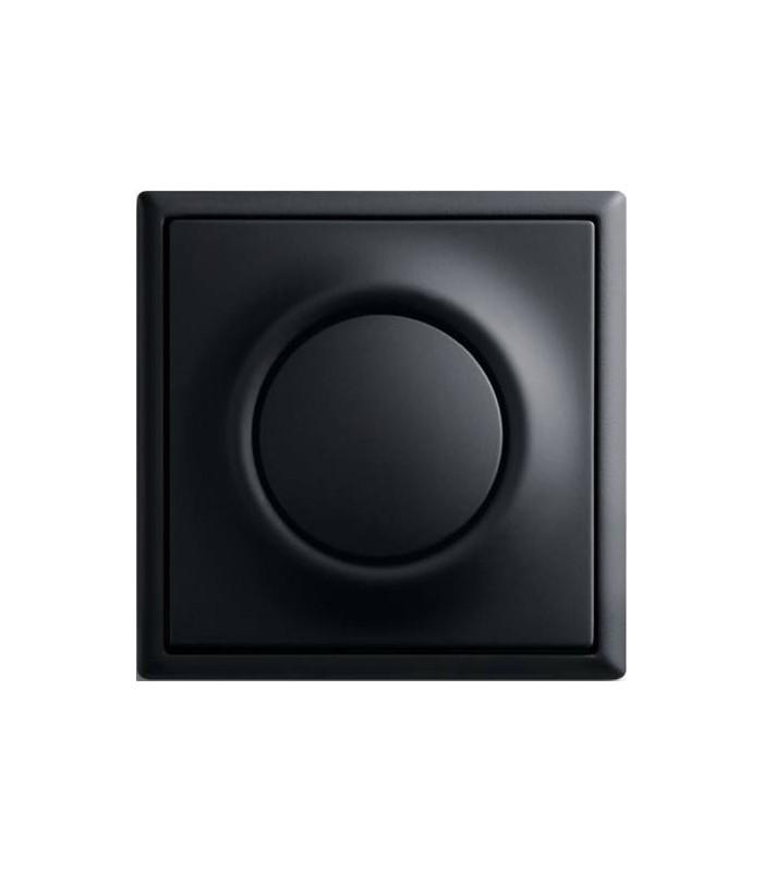 Выключатель серии Impuls черный бархат
