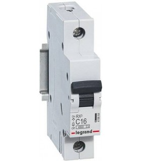 Автоматический выключатель Legrand RX3 1П 6A 4,5кА, хар. C