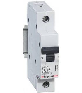 Автоматический выключатель Legrand RX3 1П 16A 4,5кА, хар. C