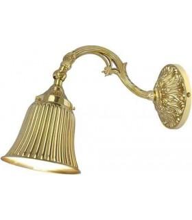 Настенный светильник из латуни FEDE SIRACUSA I, bright gold