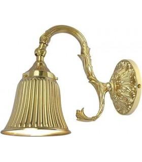 Настенный светильник из латуни FEDE SIRACUSA II, bright gold
