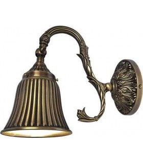 Настенный светильник из латуни FEDE SIRACUSA II, bright patina