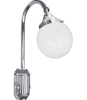 Накладной настенный светильник из латуни FEDE TIVOLI, bright chrome