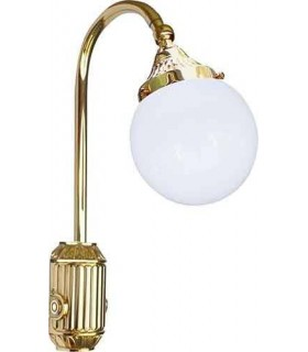 Накладной настенный светильник из латуни FEDE TIVOLI, bright gold