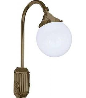 Накладной настенный светильник из латуни FEDE TIVOLI, bright patina