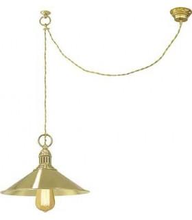 Потолочный светильник из латуни FEDE MARSALA, bright chrome
