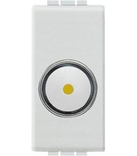 Светорегулятор для активной нагрузки 50 - 1000 Вт (1 модуль), Bticino LivingLight, белый