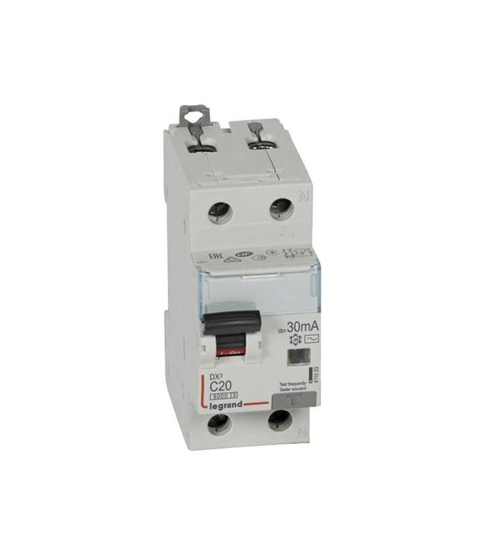 Дифференциальный автоматический выключатель Legrand DX3 20A Тип AC 30mA