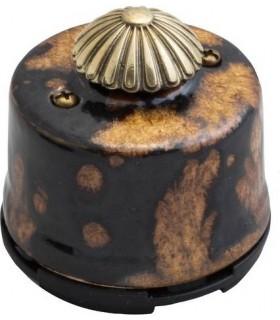 Выключатель с регулятором яркости для наружного монтажа (диммер) Salvador, экзотик
