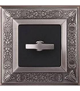 Поворотный выключатель FEDE серии Granada Antique Silver